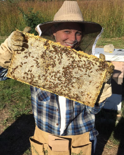 Vanessa's Bees beekeeper tours with Grand River Rafting