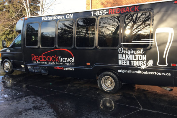 Corporate Bus Rentals, Beer Tours near Grand River Ontario