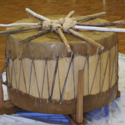 Ceremonial Smudge & Drum Session