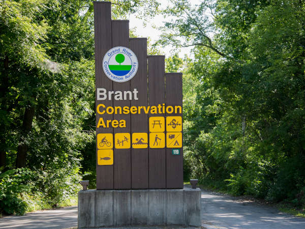 Brant Park and Grand River Rafting Location