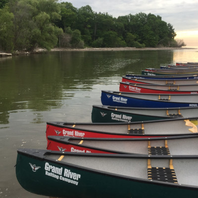 Grand River rafting canoe trips in Toronto with Paddle the Don