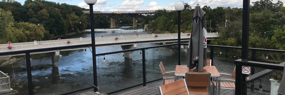 Restaurants with Grand River Rafting