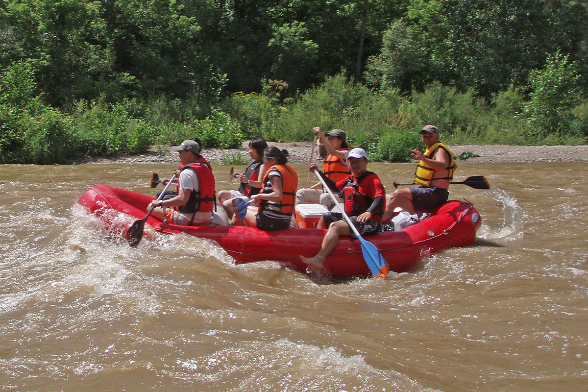 Nith River Ontario Whitewater Rafting with Grand River Rafting