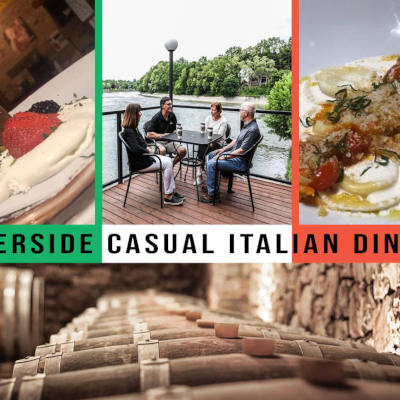 Restaurants in Paris Ontario near Grand River Rafting the italian Trattoria restaurant