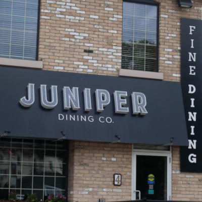 Restaurants in Paris Ontario with Grand River Rafting the Juniper Dining Company