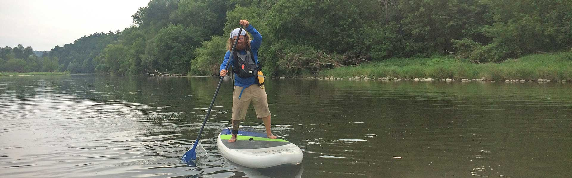 Stand up Paddle board rental grand river rafting