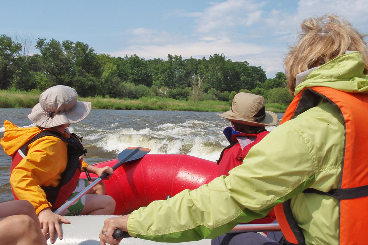 Whitewater Rafting with Grand River in Ontario