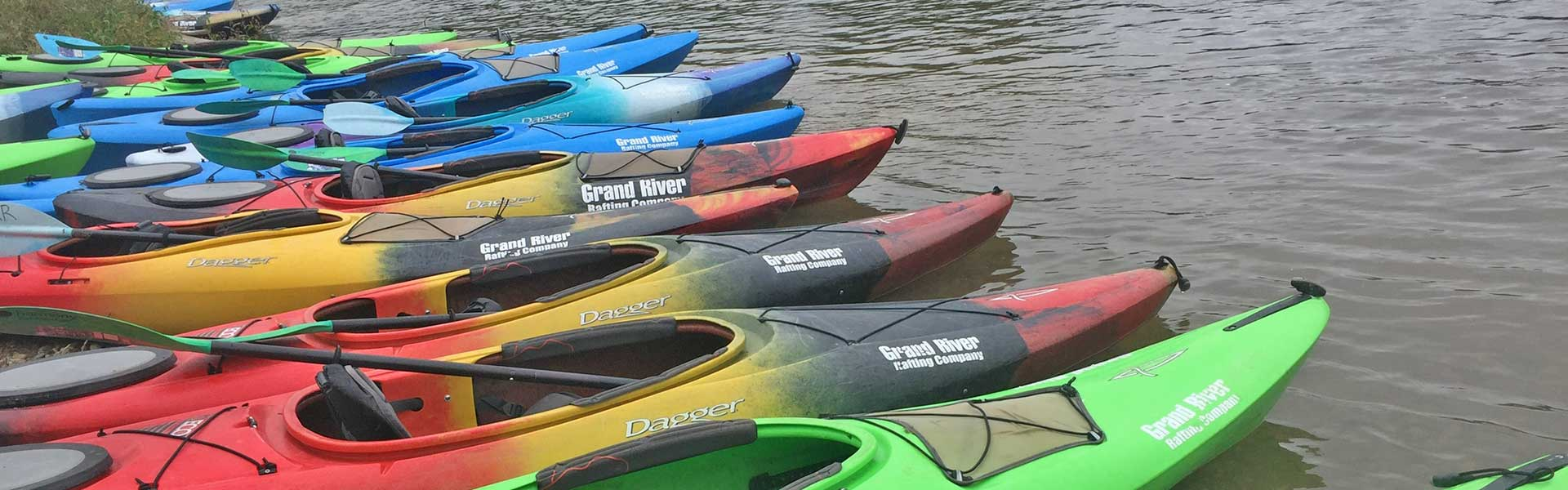 Kayak Rentals on the Grand River