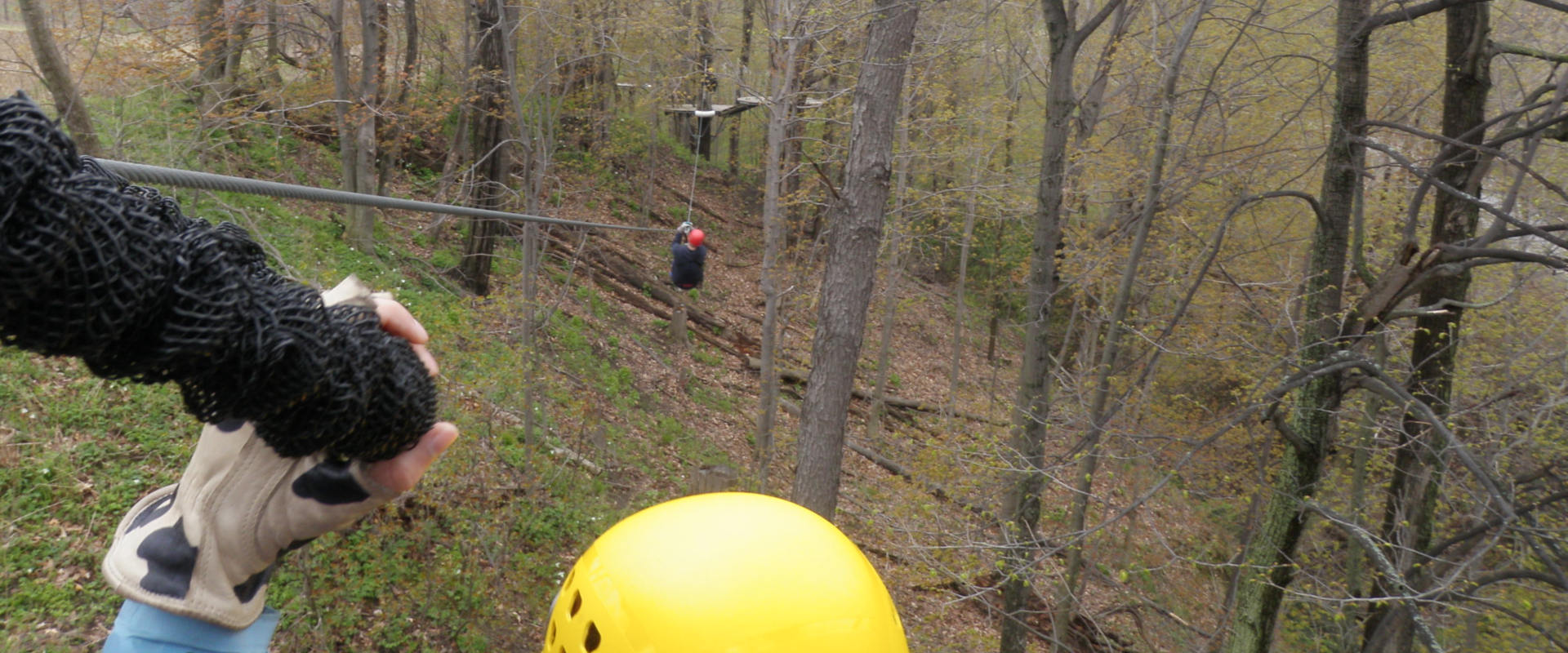 zip line and rappelling in Ontario near Garnd River Rafting