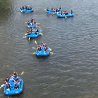 Corporate rafting trips with Grand River Rafting