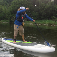 SUP rentals for corporate groups with Grand River Rafting