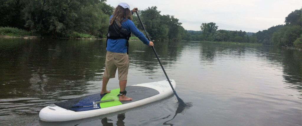 Grand River Rafting Stand up Paddleboard Rentals on the Grand River