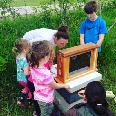 Vanessa's Bees program for schools with Grand River Rafting