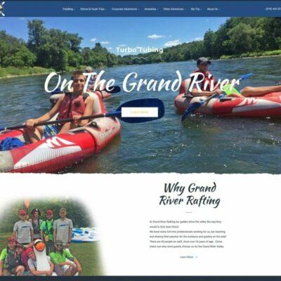 New Grand River website