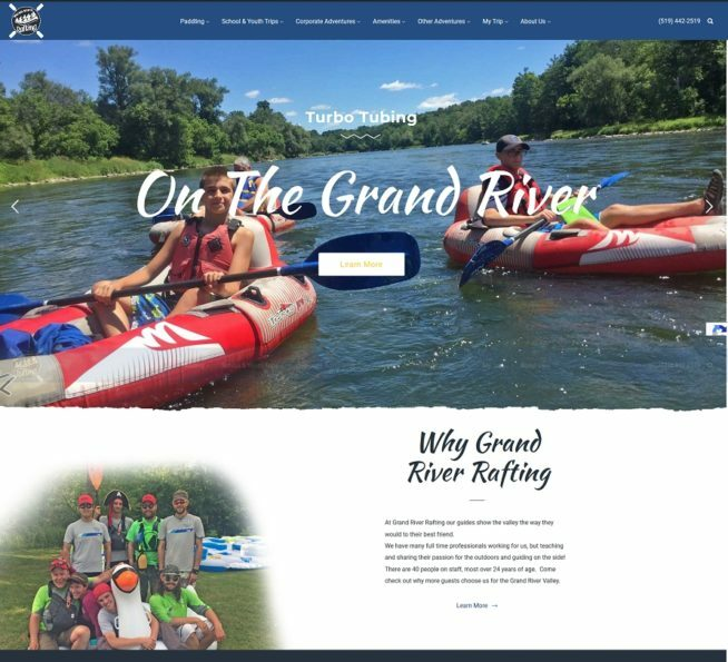New Grand River website