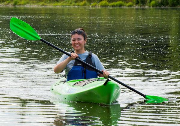 kayak trips Grand River Ontario