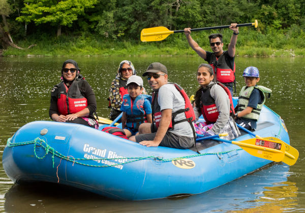 Grand River Rafting Trips Ontario