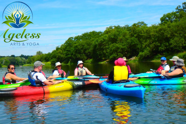 Grand River Kayak Yoga Trips in Paris Ontario