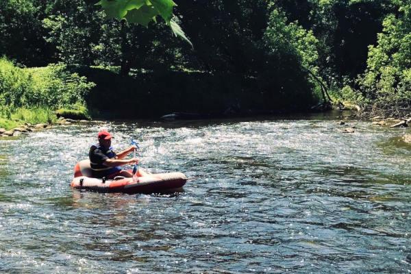 Long Point & Big Creek Turbo Tubing trips in Ontario